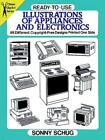 Ready-to-use Illustrations Of Appliances And Electronics - New Paperback Book photo