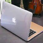 "For Macbook Pro 13 A1708/A1706/15"" A1707 Clear Glossy Crystal Case Shell Cover"
