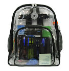 Wholesale Clear Backpack Heavy Duty Transparent Bookbag See Through Daypack 20pc