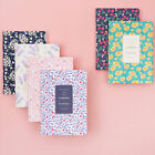 2018 Flowery Weekly Journal Diary Planner Scheduler Schedule Book Cute Notebook