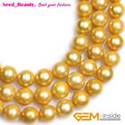 """Large Round Nuclear Edison Pearls Beads for Jewelry Making 15"""""""
