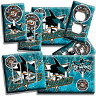 SAN JOSE SHARKS HOCKEY TEAM LOGO LIGHT SWITCH OUTLET WALL PLATE COVER ROOM DECOR $16.19 USD on eBay