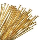 Solid Brass Head Pins 1.5 Inches Long 24 Gauge (50)