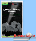 BCW: GRADED-COMIC New-Size RESEALABLE Bags: 9 x 14 10pks/100ea *1000ct/CASELOT