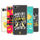 HEAD CASE DESIGNS LIFE AND LEMONS HARD BACK CASE FOR BLACKBERRY KEYONE / MERCURY