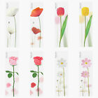 Leaf Sticky Note Flower Post-It Book Decor Bookmark Tab Memo Index Cute Marker