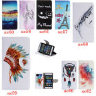 Leather Wallet Pictorial Case For Huawei P8 Lite Stand Card Slot Anti-shock