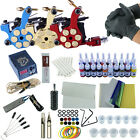 Professional Tattoo Kits 3 Tattoo Machine Gun Liner&Shader 20pc Tattoo Ink Power