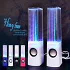 LED Dancing Water Light Speakers Show Music Fountain for Phones Computer Laptop*