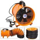 'Portable Ventilator Axial Blower Workshop Extractor Fan 8/10/12/14/16/18/20/24