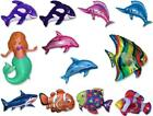 "3 x 26"" Wholesale Fish, Mermaids & Aquatics Shaped Foil Balloons - U Choose"