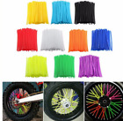 bicycle wheel spoke covers - Wheel Spoke Wraps Kit Rims Skins Cover Guard Protector Motocross Dirt Bike 36pcs