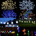 200 LED Solar Power Fairy String Garden Outdoor Party Light Wedding Raindrop UK