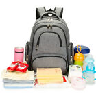 Multifunction Mummy Baby Diaper Nappy Changing Bag Mom bag Travel Backpack L