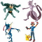 Tomy Pokemon Articulated Action Figure - Pikachu & Ash Greninja Mewtwo Machamp