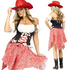 CL789 Hoedown Honey Western Wild West Cowboy Indian Rodeo Cowgirl Dress Costume