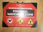 metal wall sign - funny sign for home / bar choose your football , bbq , diet
