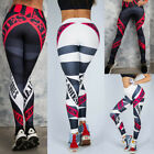 Women's Yoga Gym Pants Running Fitness Jogging Trousers Letter Print Pants