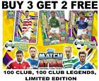 Match Attax SPFL SPL 2017/18 17/18 - 100 CLUB, 100 CLUB LEGENDS, LIMITED EDITION