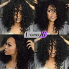Natural Kinky Curly Full Lace Wigs Front Lace Wigs Brazilian Remy Human Hair