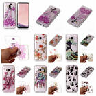 For Samsung Galaxy S8 Shiny Glitter Colorful Soft Shockproof Bumper Case Cover