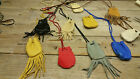 leather pouch 10 bags / large wholesale lot 6