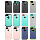10pcs/lot Dual Layer 2in 1 Hybrid Armor Shockproof Hard Case For iPhone 8 8 plus