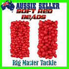 Soft Red Oval Beads Whiting Fishing Rig Making Choose your Pack