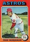 1975 Topps Baseball Singles (Excellent) #252- 498 - Your Choice *WE COMBINE S/H