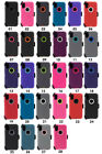 iPhone 10 X Case Cover (Clip fits Otterbox Defender) Tempered Glass Protector