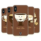 HEAD CASE DESIGNS COFFEE PERSONALITIES HARD BACK CASE FOR APPLE iPHONE PHONES