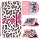 Card Holder Cover for Samsung Galaxy Apple iPhone LG Huawei Wallet Flip Case