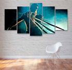 The Wolverine Movie 5 Panel Canvas, Wall Art, Picture, Painting, Print #125