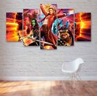 Guardians Of The Galaxy  Movie 5 Panel Canvas, Wall Art, Picture, Painting #115