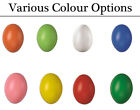 50 Hollow One Piece 60mm Plastic Easter Eggs for Crafts