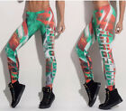 New  Letter Printing Women Bodybuilding Running Sport Casual Yoga Finess Pants