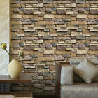 1m 3d Vintage Brick Wallpaper Living Room Waterproof Sticker Home Decor Decal