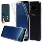 Neu Full Body 360° Silicone Gel Clear Dual Case Cover For Samsung Galaxy Note 8