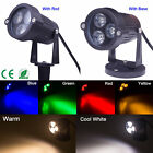 7 Colors Waterproof LED Flood Lights 9W Garden Yard Path Spot Light 12V 85-265V