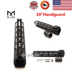 "US Metal 7""/10""/13.5""/15"" Ultralight Slim Free Float M-LOK Handguard Rail W/NutsScope Mounts & Accessories - 52510"