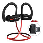 Tenergy T20 Wireless Bluetooth Earphones IPX7 Earbuds Headphons w/ Bonus Armband