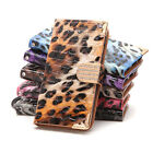 5.5'' Leopard Pattern PU Leather Wallet Flip Case Cover For iPhone 6S Plus
