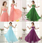 6 Colour Stunning Ball Gown Party Prom Cocktail Wedding Girl's Evening Dress