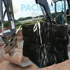 FIBC BLACK Bulk Bags For Builders and Garden Waste - 1 Ton Storage Rubble Sack