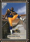 1997 Topps Gallery Football #1-134 - Your Choice GOTBASEBALLCARDS