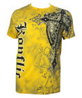 Konflic NWT Men's Giant Cross Graphic Designer MMA Muscle T-shirt image