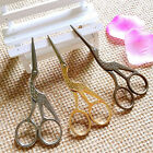 2 Size Vintage Stork Embroidery Sewing Craft Shears Cross Stitch Scissors Cutter