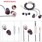In-ear Headphones Wired Earbuds Heavy Bass Noise Cancelling Earphones Wired