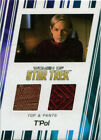 Women of Star Trek 50th Anniversary Costume Card RC10 Jolene Blalock as T'Pol on eBay