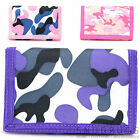 Ladies / Womens / Girls Camouflage / Army Style Velcro Wallet / Purse